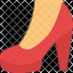 Heel Shoes Icon