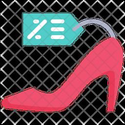 Heel Shoes Discount Icon