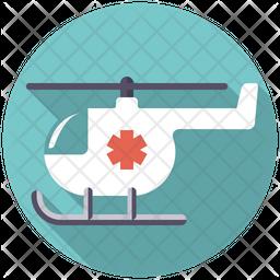 Ambulance Helicopter Icon