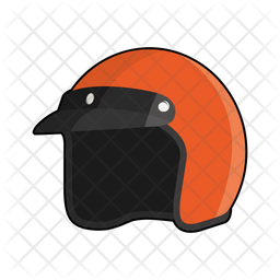 Motorcycle helmet Icon
