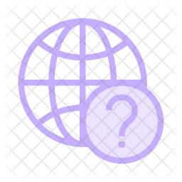 Help Colored Outline Icon