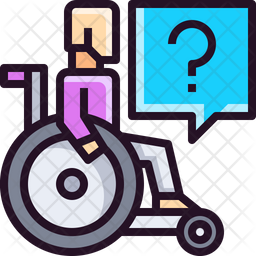 Help for disabled Icon