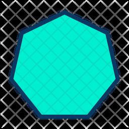 Heptagon Icon