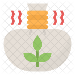Herbal Compress Ball Icon