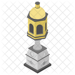 Heritage Lamp Icon