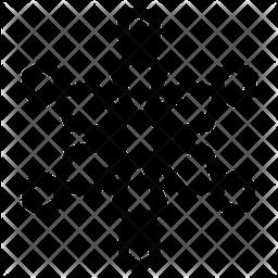 Hexagon Snowflake Icon