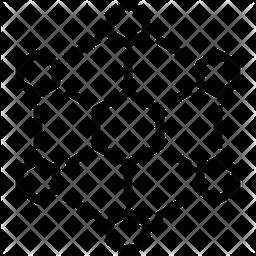 Hexagonal-Interconnections Icon