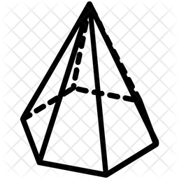 Hexagonal Pyramid Icon