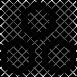 Hexagones Icon