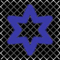 Hexagram Line Icon