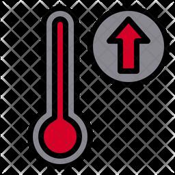 High temperature Icon