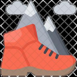 Hiking Icon
