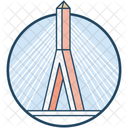 Hill Bridge Icon