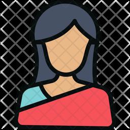 Hindu Woman Icon