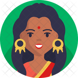 Hindu Woman Icon