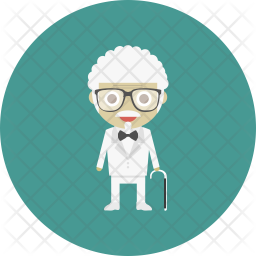 Hipster staff Icon