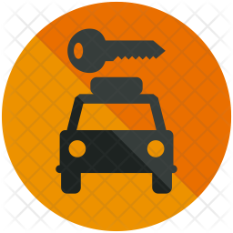 Hire Car Icon Of Glyph Style Available In Svg Png Eps Ai Icon