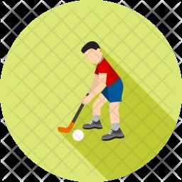 Hockey Flat Icon