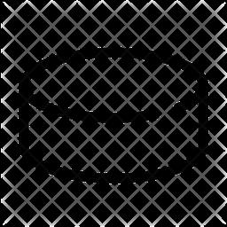 Hockey Puck Line Icon