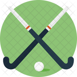 Hockey Sticks Icon