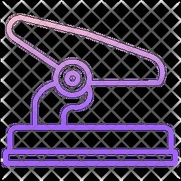 Hole Punch Machine Icon