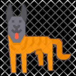 Hollandse Herder Dog Icon