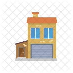 House with garage Icon