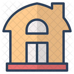 Home Colored Outline Icon