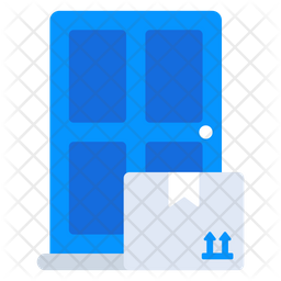 Home Delivery Flat Icon