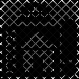 Home Design Glyph Icon