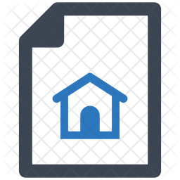 Home Insurance Policy Glyph Icon