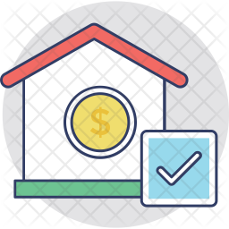 Home Loan Approved Icon
