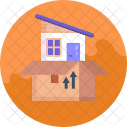 Home Moving Icon