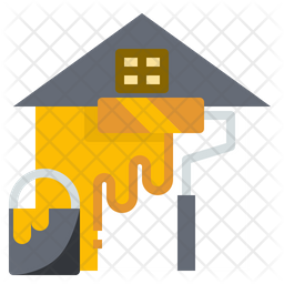 Home painting Icon