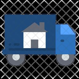 Home relocation Icon