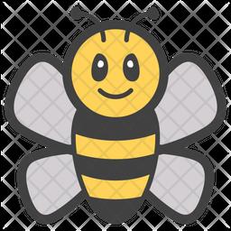 Honey Bee Emoji Emoji Icon