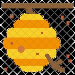Honeycomb Flat Icon