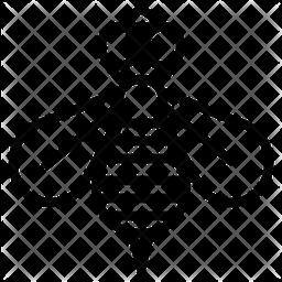 Honeycomb Line Icon