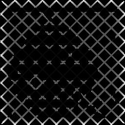 Honeycomb Glyph Icon