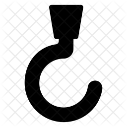 Hook Glyph Icon