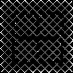 Horizontal border Icon