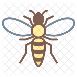 hornet icon colored outline icons iconscout