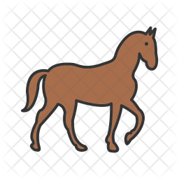 Horse Icon Of Colored Outline Style Available In Svg Png Eps Ai Icon Fonts