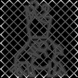 Horus Line Icon