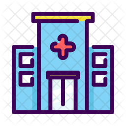 Hospital Icon Of Colored Outline Style Available In Svg Png Eps Ai Icon Fonts