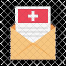 Hospital Message Icon