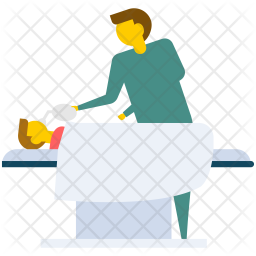 Hospital Recovery Room Icon