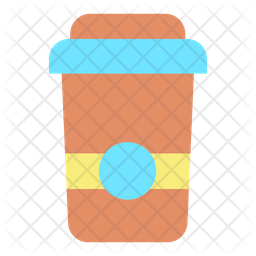 Hot Coffee Flat Icon