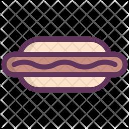 Hotdog, Frank, Food, Fastfood, Sausage Icon