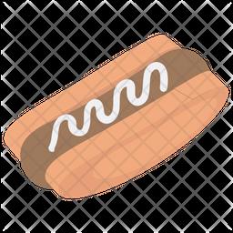 Hotdog Sandwich Icon